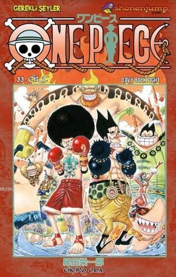 One Piece 33. Cilt; Davy Back Fıght