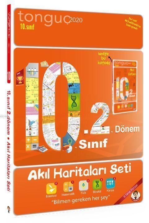 Tonguç Yayınları 10. Sınıf 2. Dönem Akıl Haritaları Seti Tonguç