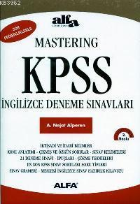 Mastering KPSS İngilizce Deneme Sınavları