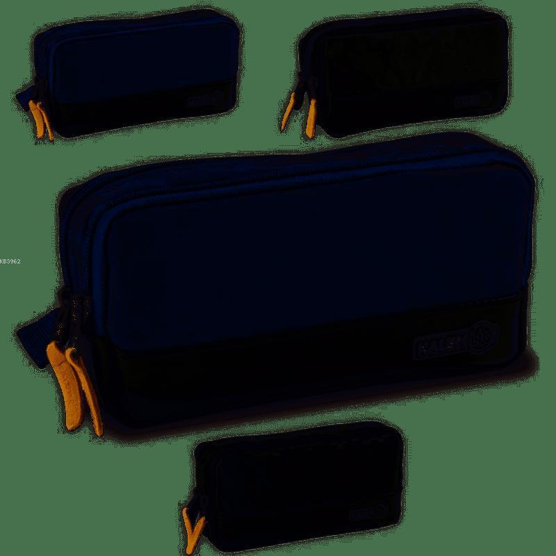 Kampanyalı Kalemlig Çift Bölümlü Kalemlik  KLG-GN0