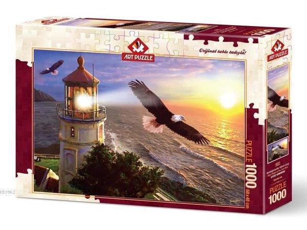 Art Puzzle 4221 Gündoğumunda Yüksek Uçuş 1000