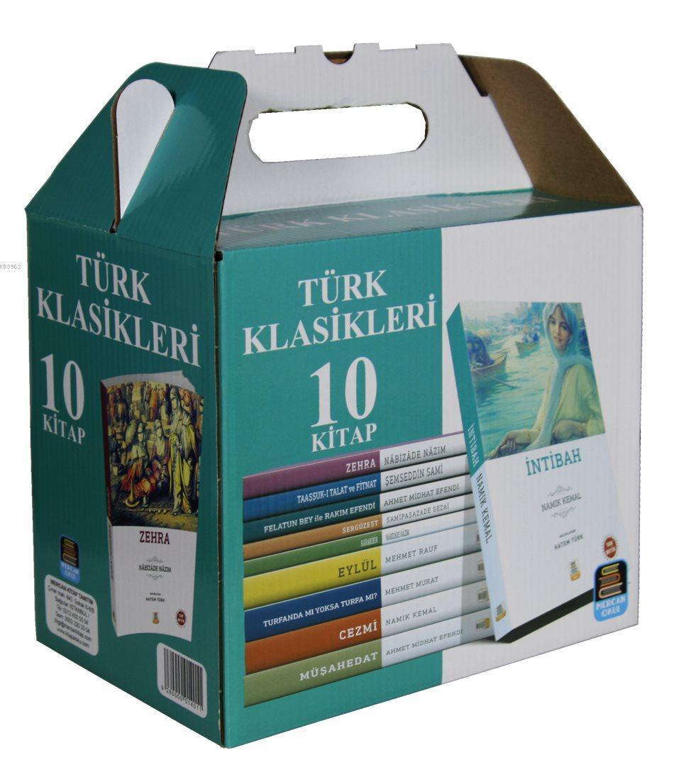 Mercan Türk Klasikleri Seti (10 Kitap) Sadeleştirilmiş İnceleme Tam Metin