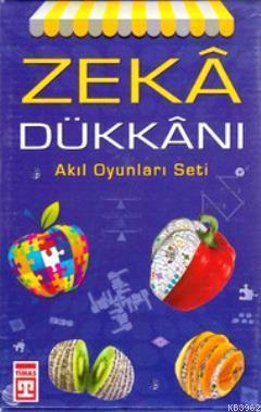 Zeka Dükkanı Akıl Oyunları Seti (4 Kitap Takım, Kutulu)