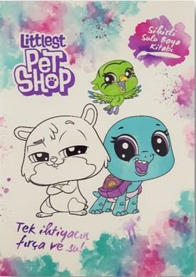 Littlest Pet Shop - Sihirli Sulu Boya Kitabı; Tek ihtiyacın fırça ve su!