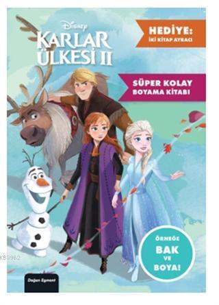 Disney Karlar Ülkesi 2 - Süper Kolay Boyama Kitabı