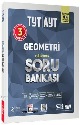 Sınav Dergisi Yayınları TYT AYT Geometri Full Çeken Soru Bankası Sınav Dergisi