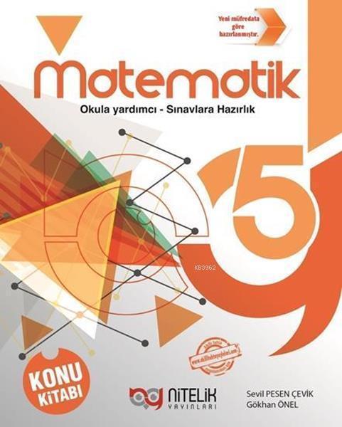 Nitelik Yayınları 5. Sınıf Matematik Konu Kitabı Nitelik