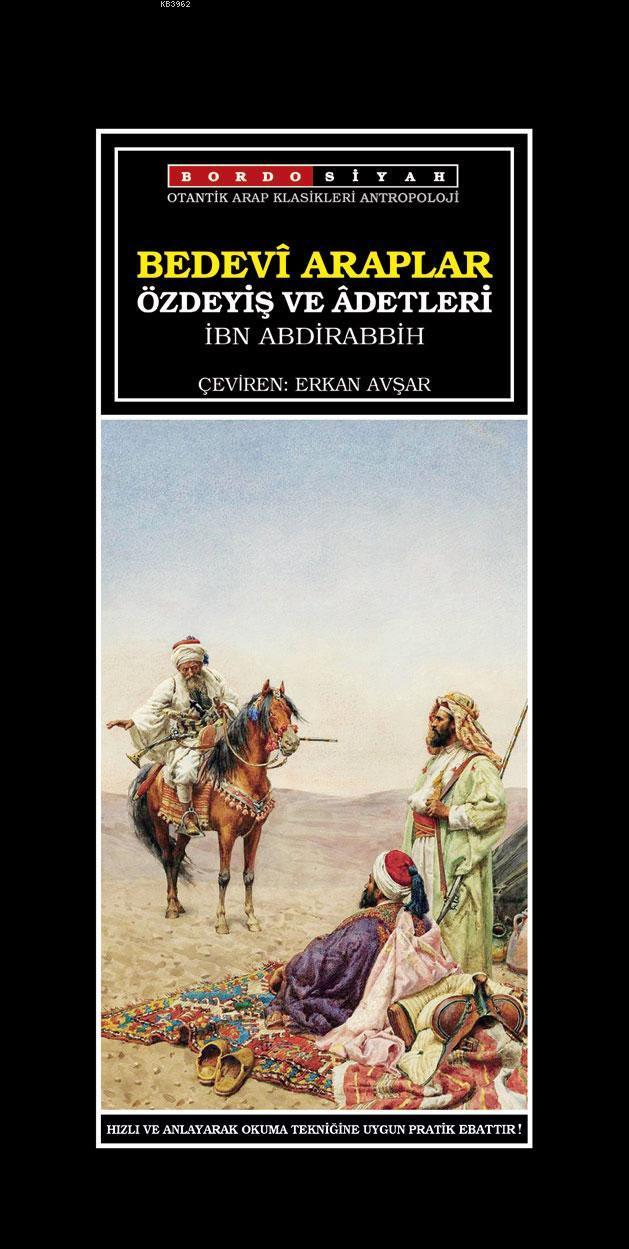 Bedevî Araplar Özdeyiş Ve Âdetleri