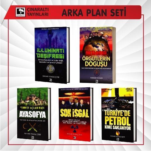 Arka Plan Seti 5 Kitap
