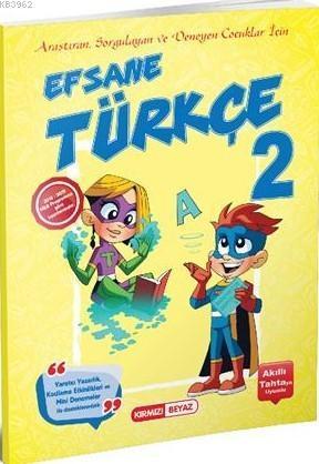 Kırmızı Beyaz Yayınları 2. Sınıf Efsane Türkçe Kırmızı Beyaz