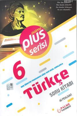 Palme Yayınları 6. Sınıf Türkçe Plus Serisi Soru Kitabı Palme