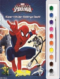 Marvel Ultimate Spider Man : Poster Boyama Kitabım; Süper Kötüler Saldırıya Geçti!
