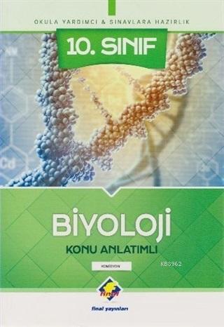 Final 10. Sınıf Biyoloji Konu Anlatımlı Yeni