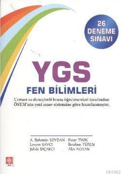 YGS Fen Bilimleri 26 Deneme Sınavı