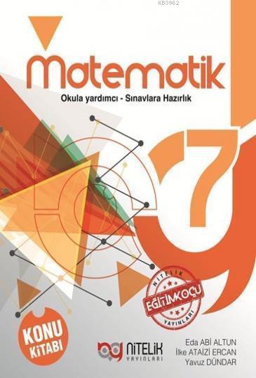 Nitelik Yayınları 7. Sınıf Matematik Konu Kitabı Nitelik