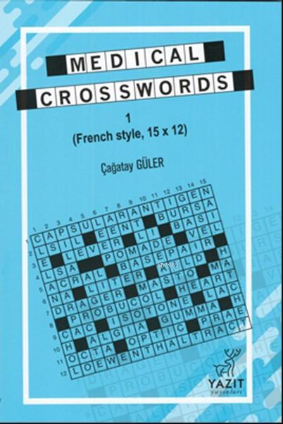 Medical Crosswords 1; (French Style, 15x12)