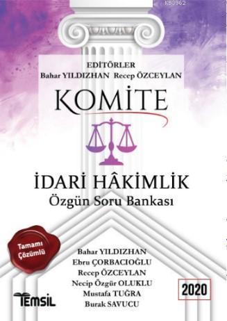 Komite İdari Hakimlik Soru Bankası
