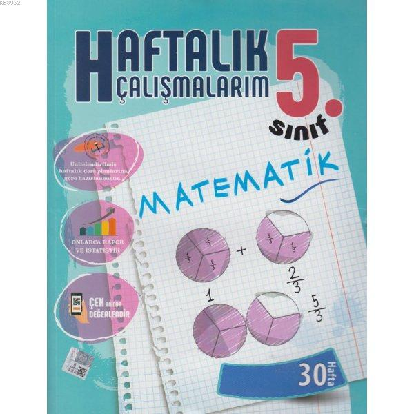 5. Sınıf Haftalık Çalışmalarım Matematik