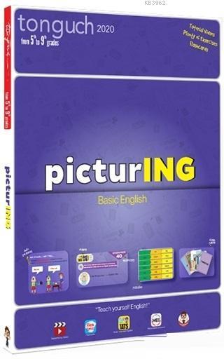 PicturING Basic English - Resimli İngilizce Grammer Kitabı