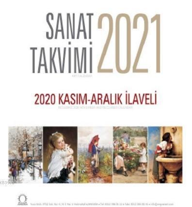 Sanat Takvimi 2021 Masa Takvimi