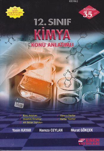 12. Sınıf Kimya Konu Anlatımlı
