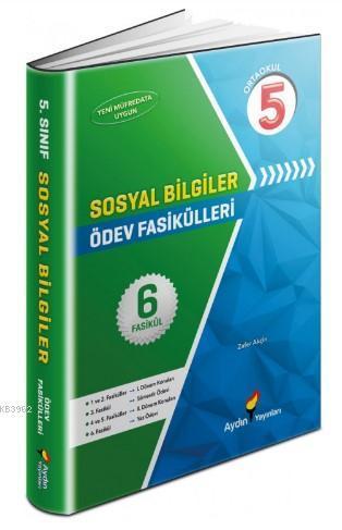 Aydın Yayınları 5. Sınıf Sosyal Bilgiler Ödev Fasikülleri Aydın