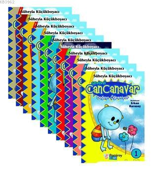 Sevimli Can Canavar (10 Kitap Set)