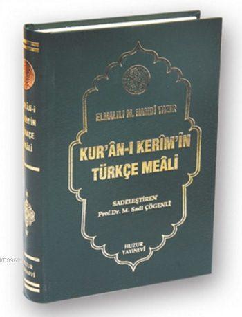 Kuran-ı Kerim'in Meali (Hafız Boy-Metinsiz)