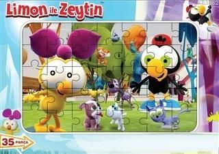 Limon İle Zeytin Frame Puzzle 1 (35 Parça)