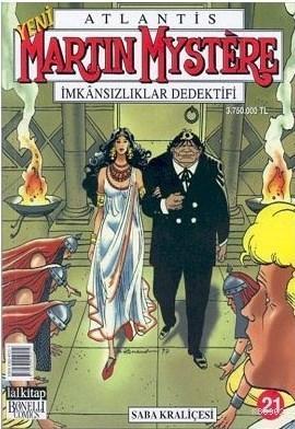 Martin Mystere İmkansızlar Dedektifi Sayı: 21 Saba Kraliçesi