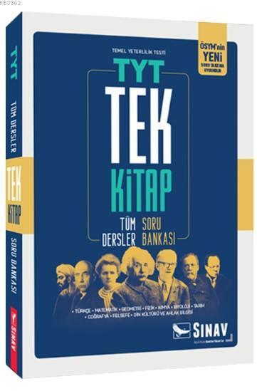 Sınav Dergisi Yayınları TYT Tüm Dersler Tek Kitap Soru Bankası Sınav Dergisi