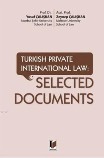 Selected Documents; Turkish Private International Law