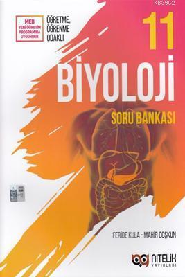 Nitelik Yayınları 11. Sınıf Biyoloji Soru Bankası Nitelik