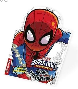 Spider Man - Marvel Süper Kahramanlar Boyama Koleksiyonu