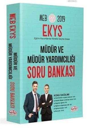 MEB EKYS Müdür ve Müdür Yardımcılığı Soru Bankası 2019