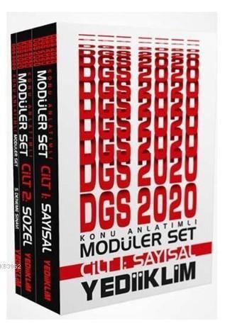 Yediiklim Dgs Konu Anlt.Modüler Set 2020