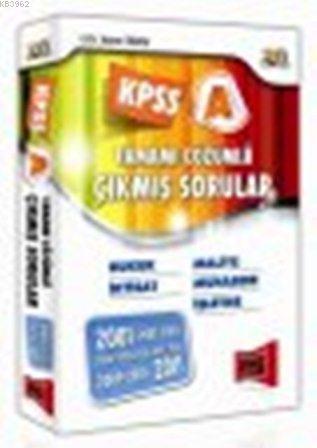KPSS A Tamamı Çözümlü Çıkmış Sorular 2001-2011