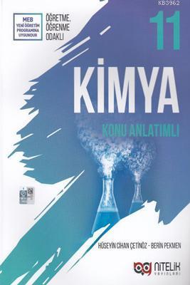 Nitelik Yayınları 11. Sınıf Kimya Konu Anlatımlı Nitelik