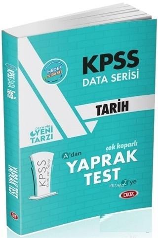 KPSS Data Serisi Tarih Çek Koparlı Yaprak Test