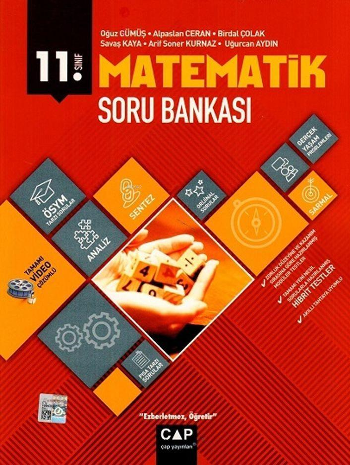 Çap Yayınları 11. Sınıf Anadolu Lisesi Matematik Soru Bankası Çap