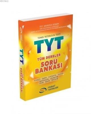 Murat Yayınları TYT Tüm Dersler Soru Bankası Murat