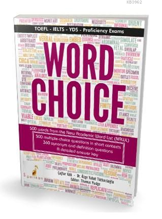 Word Choice Toefl Ielts YDS Proficiency Exams