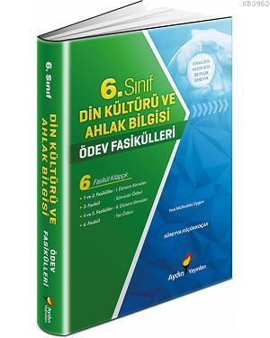 Aydın Yayınları 6. Sınıf Din Kültürü ve Ahlak Bilgisi Ödev Fasikülleri Aydın