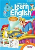 İlkokullar İçin Learn English (Mavi); Masal Kahramanlarıyla İngilizce Öğreniyorum
