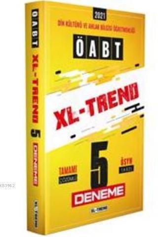 2021 Din Kültürü ve Ahlak Bilgisi Öğretmenliği ÖABT 5 Deneme Tamamı Çözümlü XL - Trend