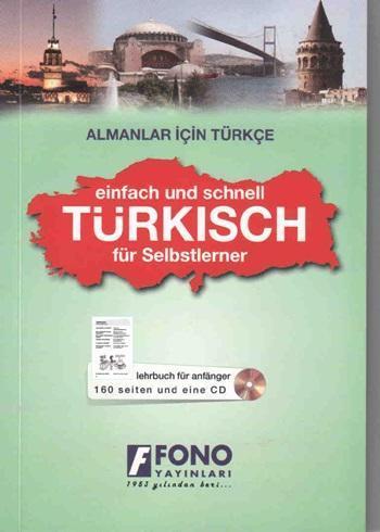 Almanlar İçin Türkçe; (1 Kitap + 1 Cd)