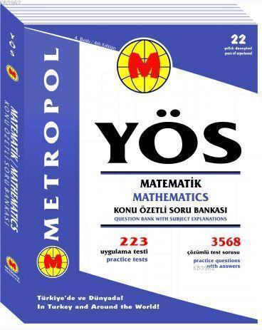 YÖS Matematik Tüm Konular (Konu Özetli Soru Bankası)