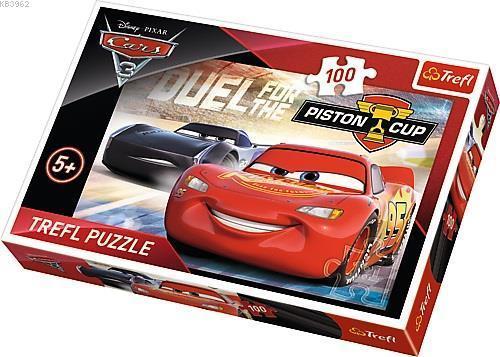 Trefl Puzzle 16313 Cars Piston Cup 100 Parça