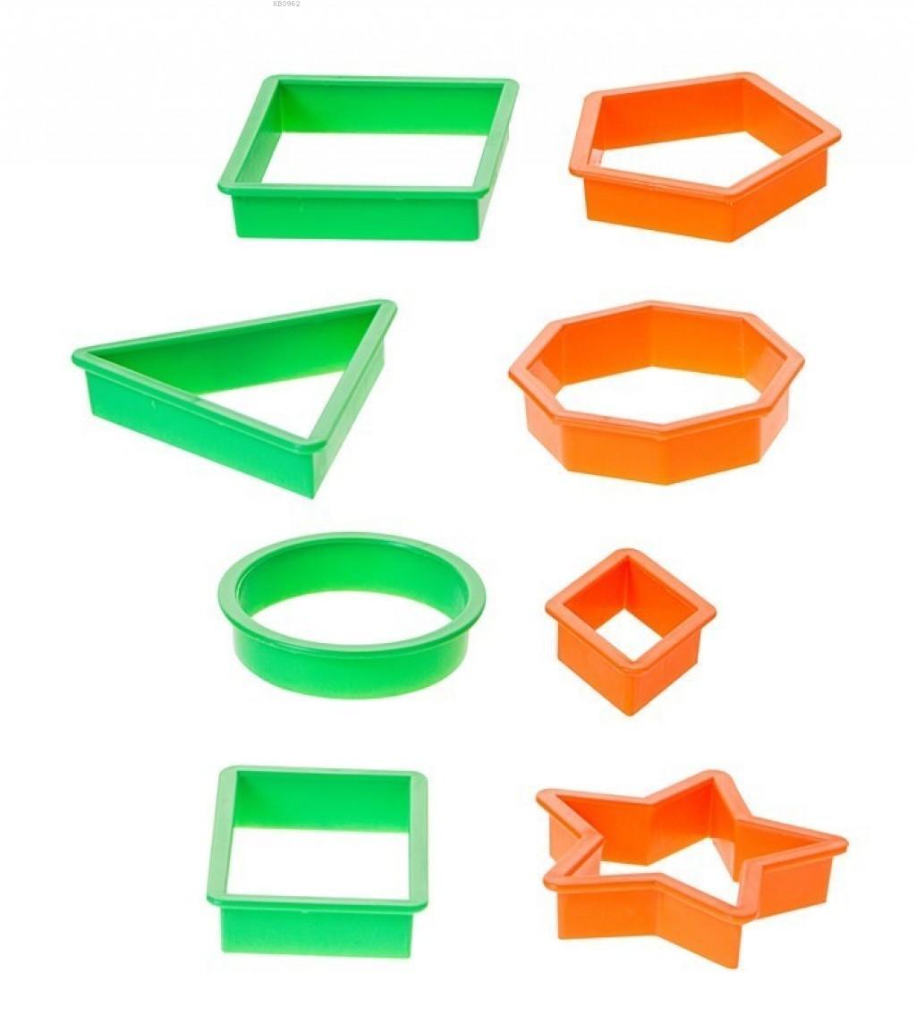Bu-Bu Oyun Hamuru Kalibi Geometrik Şekil Hk0001