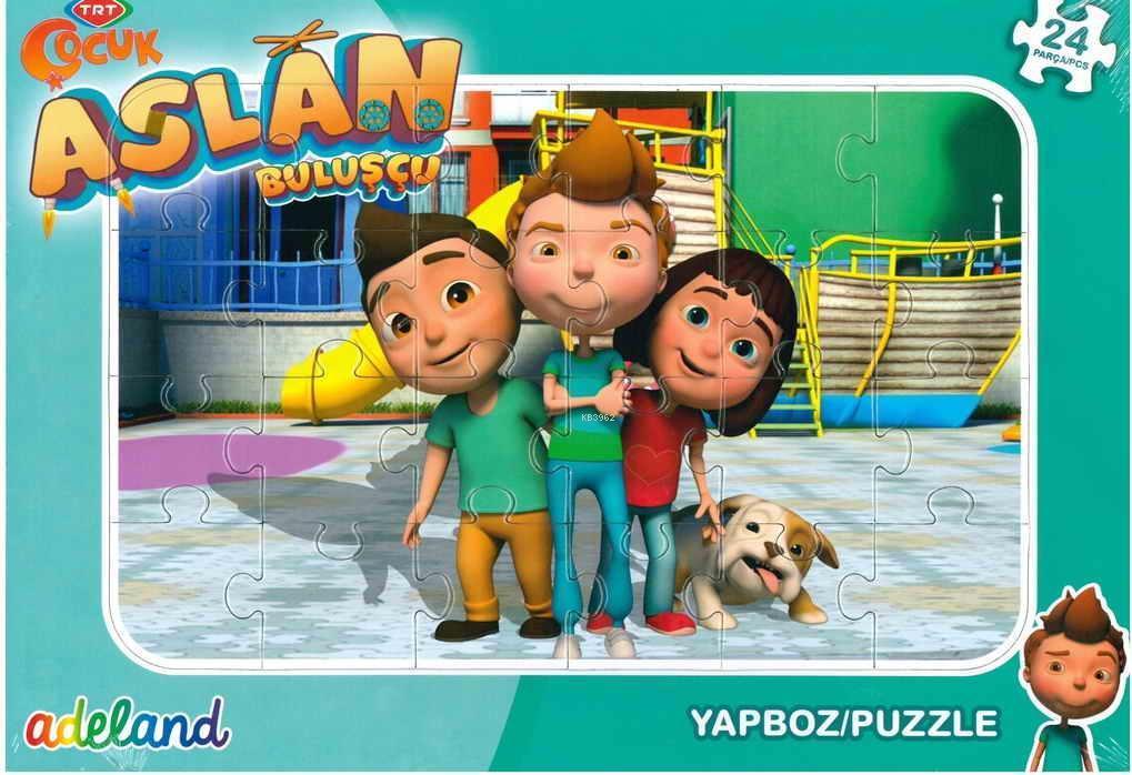 Trt Çocuk 24 Parça Aslan Buluşçu Puzzle 201929